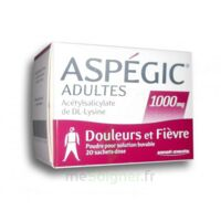 ASPEGIC ADULTES 1000 mg, poudre pour solution buvable en sachet-dose 20 à Savenay