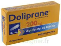 DOLIPRANE 200 mg Suppositoires 2Plq/5 (10) à Savenay