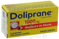 DOLIPRANE 1000 mg Comprimés effervescents sécables T/8 à Savenay