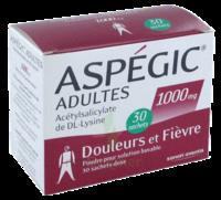 ASPEGIC ADULTES 1000 mg, poudre pour solution buvable en sachet-dose 30 à Savenay