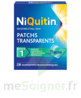 NIQUITIN 21 mg/24 heures, dispositif transdermique Sach/28 à Savenay
