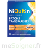 NIQUITIN 14 mg/24 heures, dispositif transdermique Sach/28 à Savenay