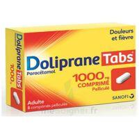 DOLIPRANETABS 1000 mg Comprimés pelliculés Plq/8 à Savenay