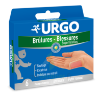 URGO BRULURES-BLESSURES PETIT FORMAT x 6 à Savenay