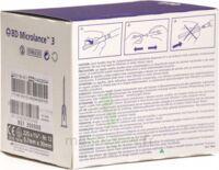 BD MICROLANCE 3, G22 1 1/4, 0,7 mm x 30 mm, noir  à Savenay