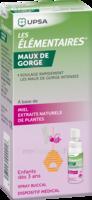 LES ELEMENTAIRES Spray buccal maux de gorge enfant Fl/20ml à Savenay