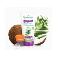Puressentiel Anti-poux Shampooing masque traitant 2 en 1 Anti-Poux avec peigne - 150 ml à Savenay
