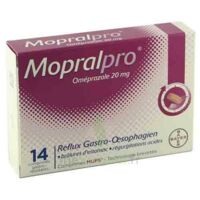 MOPRALPRO 20 mg Cpr gastro-rés Film/14 à Savenay