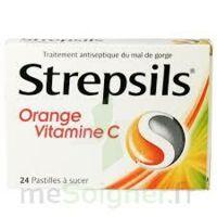 STREPSILS ORANGE VITAMINE C, pastille à Savenay