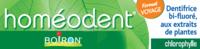 Boiron Homéodent Soin Complet Dents et Gencives Pâte Dentifrice Chlorophylle Format Voyage T/25ml à Savenay