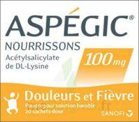 ASPEGIC NOURRISSONS 100 mg, poudre pour solution buvable en sachet-dose à Savenay