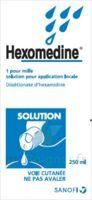 HEXOMEDINE 1 POUR MILLE S appl loc Fl/250ml à Savenay