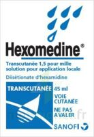HEXOMEDINE TRANSCUTANEE 1,5 POUR MILLE, solution pour application locale à Savenay