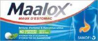 Maalox Hydroxyde D'aluminium/hydroxyde De Magnesium 400 Mg/400 Mg Cpr à Croquer Maux D'estomac Plq/40 à Savenay
