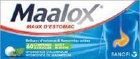 MAALOX HYDROXYDE D'ALUMINIUM/HYDROXYDE DE MAGNESIUM 400 mg/400 mg Cpr à croquer maux d'estomac Plq/60 à Savenay