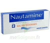 NAUTAMINE, comprimé sécable à Savenay