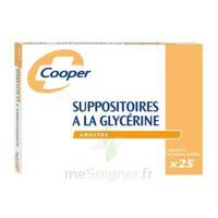 SUPPOSITOIRES A LA GLYCERINE COOPER Suppos en récipient multidose adulte Sach/25 à Savenay