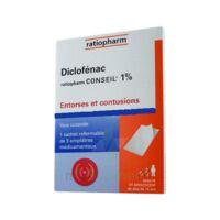 Diclofenac Ratiopharm Conseil 1 %, Emplâtre Médicamenteux à Savenay