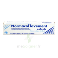NORMACOL LAVEMENT ENFANTS, solution rectale, récipient unidose à Savenay