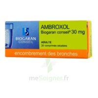 AMBROXOL BIOGARAN CONSEIL 30 mg, comprimé sécable à Savenay