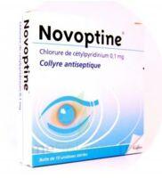 NOVOPTINE 0,1 mg/0,4 ml, collyre en récipient unidose à Savenay