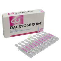 Dacryoserum Solution Pour Lavage Ophtalmique En Récipient Unidose 20unidoses/5ml à Savenay