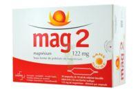 MAG 2 122 mg S buv en ampoule sans sucre édulcoré à la saccharine sodique 30Amp/10ml à Savenay