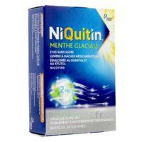 Niquitin 2 Mg Gom à Mâcher Médic Menthe Glaciale Sans Sucre Plq Pvc/pvdc/alu/30 à Savenay