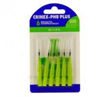 CRINEX PHB PLUS Brossette inter-dentaire micro B/6 à Savenay