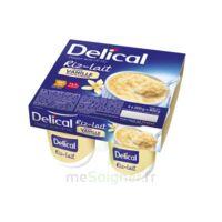 Delical Riz Au Lait Nutriment Vanille 4pots/200g à Savenay