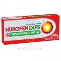 Nurofencaps 400 Mg Caps Molle Plq/10 à Savenay