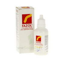 FAZOL 2 POUR CENT, émulsion fluide pour application locale à Savenay