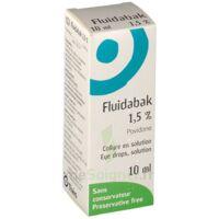 FLUIDABAK 1,5 %, collyre en solution à Savenay