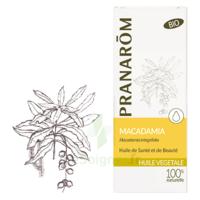 PRANAROM Huile végétale bio Macadamia 50ml à Savenay
