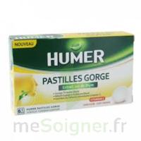 HUMER PASTILLE GORGE à l'etrait sec de thym 24 pastilles à Savenay