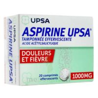 ASPIRINE UPSA TAMPONNEE EFFERVESCENTE 1000 mg, comprimé effervescent à Savenay
