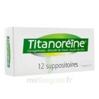 TITANOREINE Suppositoires B/12 à Savenay
