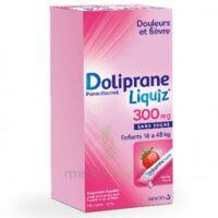 Dolipraneliquiz 300 mg Suspension buvable en sachet sans sucre édulcorée au maltitol liquide et au sorbitol B/12 à Savenay