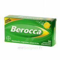 Berocca Comprimés effervescents sans sucre T/30 à Savenay