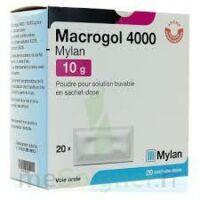 Macrogol 4000 Mylan 10 G, Poudre Pour Solution Buvable En Sachet-dose à Savenay