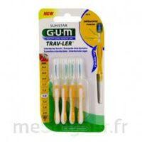 GUM TRAV - LER, 1,3 mm, manche jaune , blister 4 à Savenay