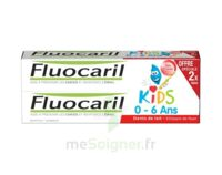 Fluocaril Kids Gel dentifrice Fraise 0/6ans 2*50ml à Savenay