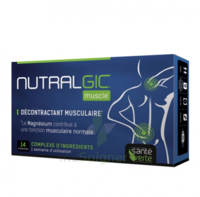 Nutralgic Muscle Comprimés décontractant musculaire B/14 à Savenay