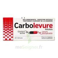 CARBOLEVURE Gélules adulte Plq/30 à Savenay