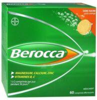 Berocca Comprimés effervescents sans sucre T/60 à Savenay