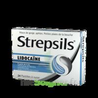 Strepsils Lidocaïne Pastilles Plq/24 à Savenay