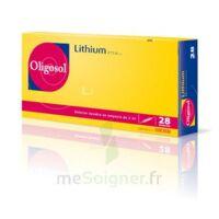 Oligosol Lithium Solution buvable en ampoule ou en récipient unidose 28Amp/2ml à Savenay