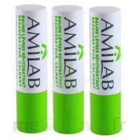 Amilab Baume labial réhydratant et calmant lot de 3 à Savenay