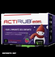 Santé Verte Actirub Sachets enfants - goût framboise à Savenay