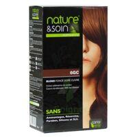 Nature & Soin Kit coloration 6GC blond foncé doré cuivré à Savenay